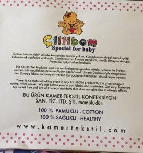 Новый Набор одежды для новорожденного