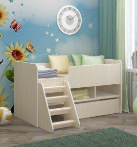 Кровать детская Юниор-3