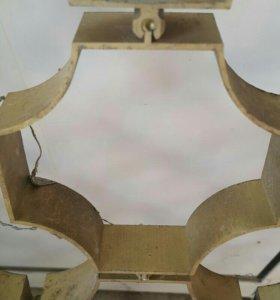 латунная решетка соты