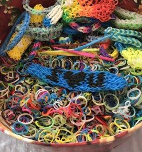 Набор с резинками для плетения