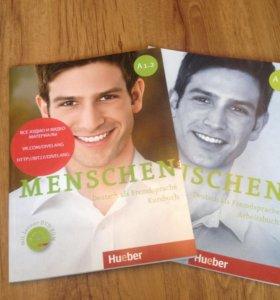 """Учебник по немецкому """"Menschen"""""""