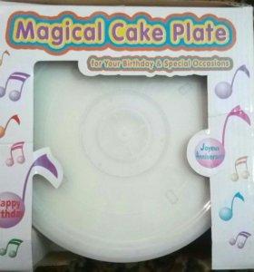Музыкальная подставка под торт