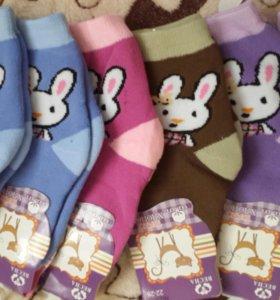 Новые махровые термо-носки на 2-3г и 4-5л