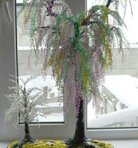 Дерево из бисера на заказ