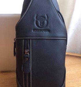 Кожаный супер рюкзак