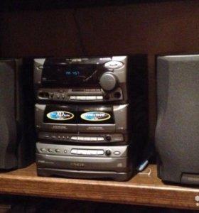 Музыкальный центр Kenwood RXD-750 100W+ 100W