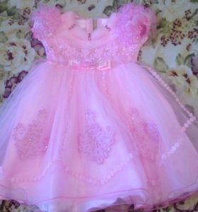 Красивое пышное платья