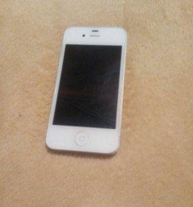 iPhone 4(8гб,white)