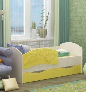 Кровать детская Дельфин-3