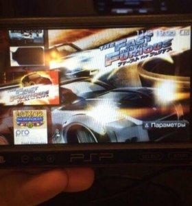 PSP Play Station Portable ПРОШИТАЯ