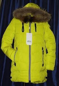 Новые стильные куртки зимние с натуральным мехом
