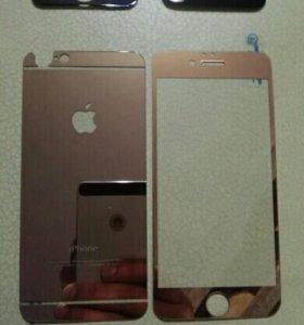 Защитное стекло iphone 6-6s