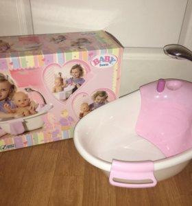 Ванночка интерактивная, Ванна Baby Born
