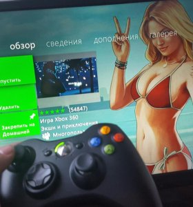 Xbox 360 E Super Slim Black 250 GB Лицензия.