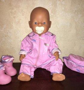 Комплект одежды и обуви для куклы Baby Born