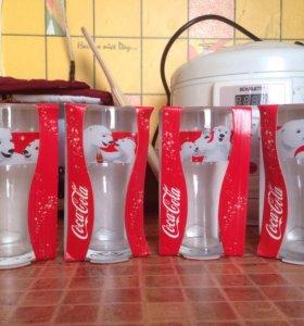 бокалы Coca-Cola