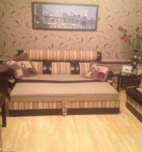Продаю диван с креслом