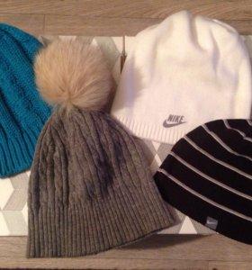4 шапки