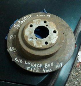 Задний тормозной диск от субару легаси