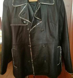 Куртка кожаная Италия 50.52