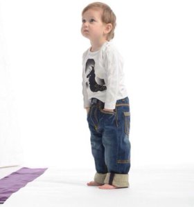 джинсы на мальчика Hurly byrly
