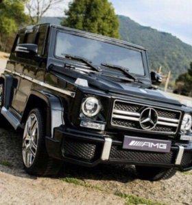 Mercedes Benz G63AMG Электромобили лицензия