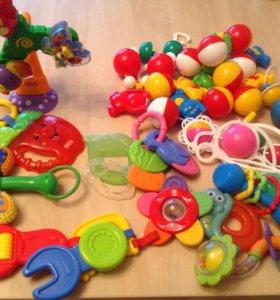 Игрушки, погремушки, прорезыватели
