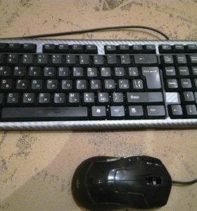 Продам Клавиатуру и Мышь Игровую