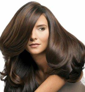 Oкрашивание волос+укладка