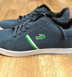 Мужские  Lacoste новые кроссовки