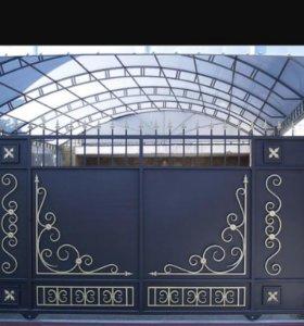 Ворота, калитки. Решетки