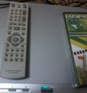 DVD плеер DK577XB/DKV577X+ микрофон 500руб