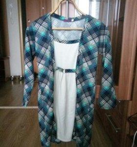 Платье-туника для беременных, 44 размер
