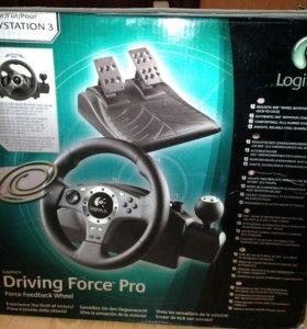 Руль и педали для PS 3 и ПК