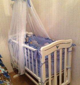Кроватка люлька Гандылян лили