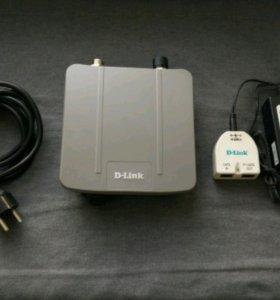 Внешняя WiFi точка доступа DAP-3520