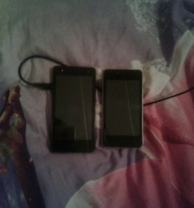 Два телефона ZTE 4.5дюйма и 4дюйма.Обмен продажа