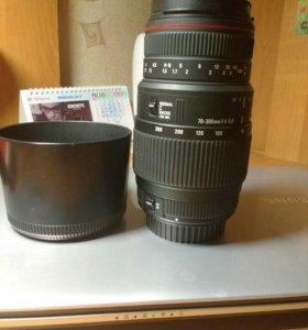 Sigma AF 70-300mm f/4-5.6 APO Macro DG Canon EF