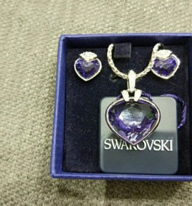 Комплект Swarovski новый оригинал