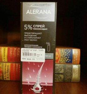 Спрей против выпадения Алерана 5%