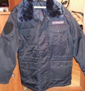 Куртка полицейская зимняя