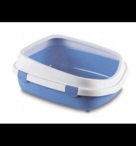 Туалет Queen с рамкой, голубой, 55x71x24,5 см