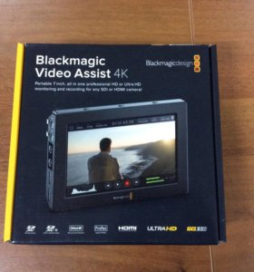 Blackmagic video assist 4K рекордер, или обмен