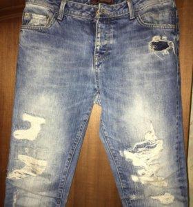 Мужские джинсы ZARA б/у