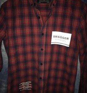 Рубашка фирмы JUST почти как новая