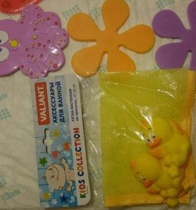 Мини коврики и сетка для игрушек комплектом
