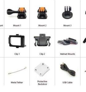 Аксессуары для экшн камеры Eken, Sjcam, F60 и тп