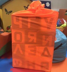 Набор мягких игровых кубиков - Азбука