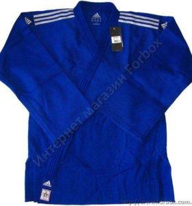 Кимоно adidas champion 2 синее