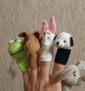 Игрушка на палец новые 10 штук